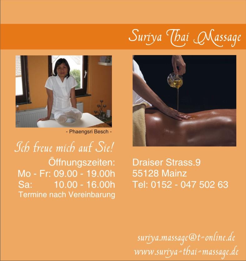 Thai massage lahr