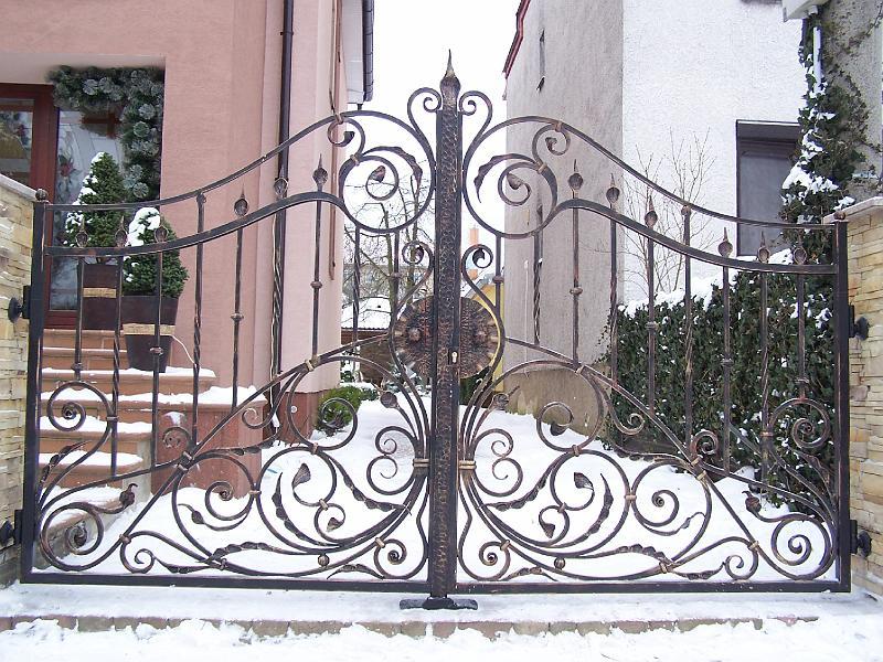 Traumhafte Gartentor Einfahrtstor Zaun Pforte