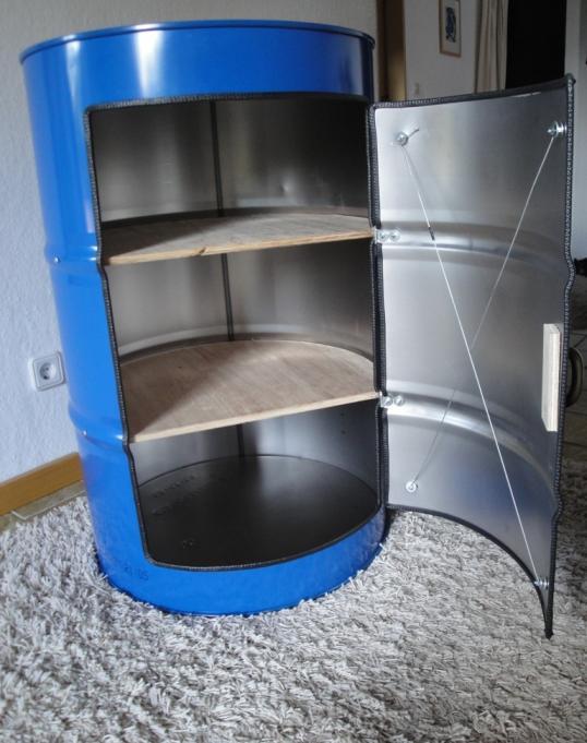 lfassschrank lfass schrank fass als schrank. Black Bedroom Furniture Sets. Home Design Ideas