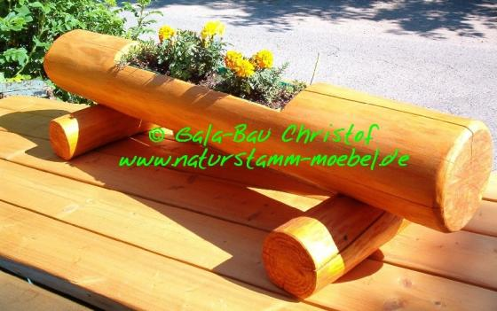 Teakholz Gartenmobel Tisch : Foto 4 Rustikale Gartenmöbel aus Holz