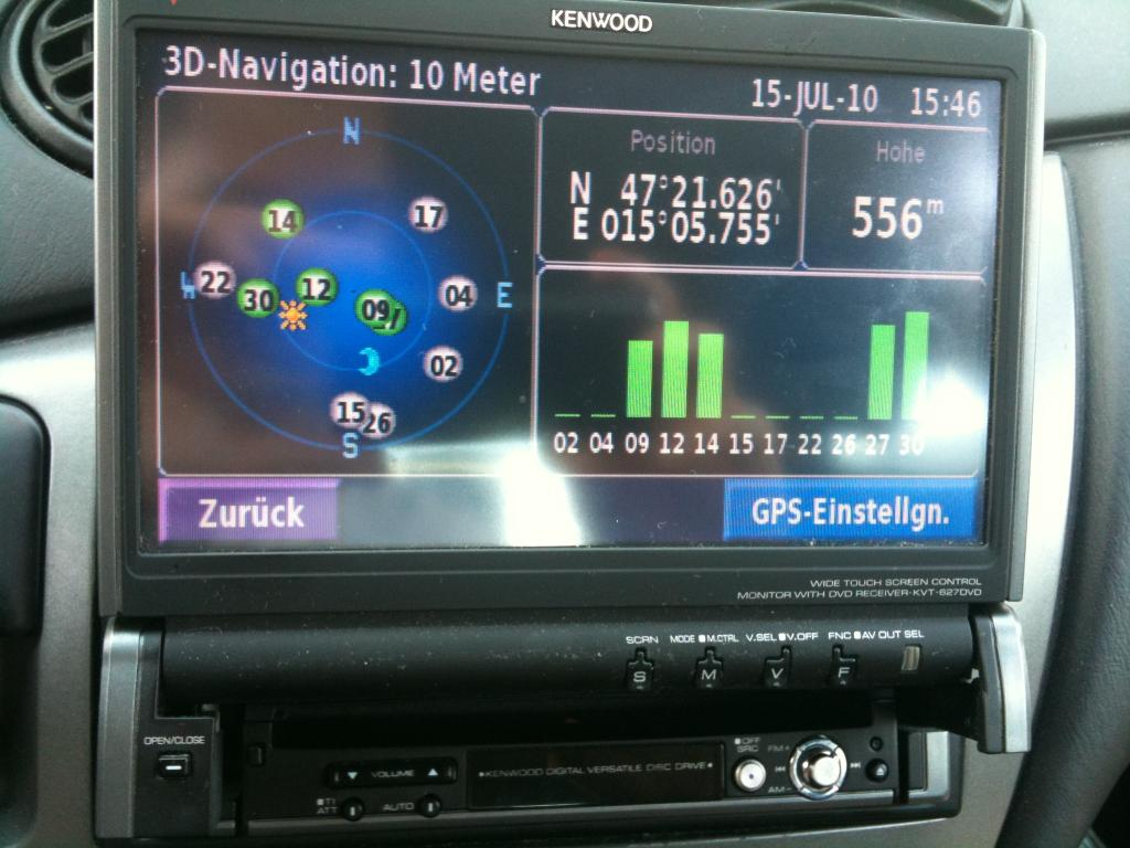 Foto 4 Highend Navgations Multimedia Autoradio Kenwood KVT 627 DVD