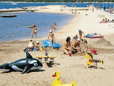 Kroatien Insel Krk Fkk Hotel Fkk Valalta Istrien