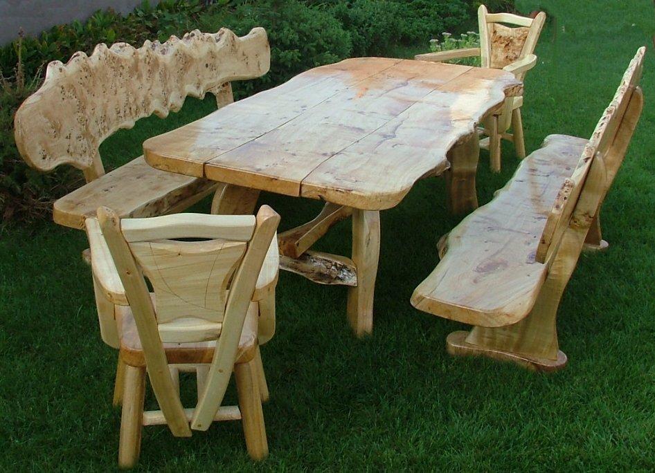 garten und terrassenm bel gartengarnituren aus massivholz. Black Bedroom Furniture Sets. Home Design Ideas