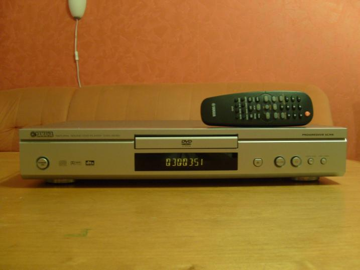 Foto 5 Verkaufe YAMAHA DVD-S540 silber DVD-Player, Progressive Scanning MP3, DVD Video Player, Video CD, VCD TOP!!! Traumhafte bilder !