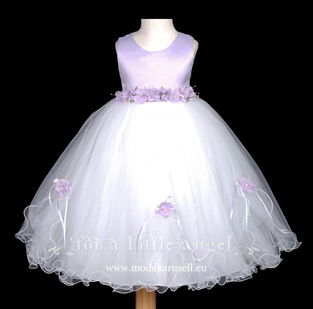traum blumenmädchenkleid abendkleid für mädchen lila