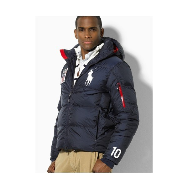 the best attitude ce530 e8f68 Ralph Lauren Polo Winterjacke Herren jacken Daunen Jacke Big ...