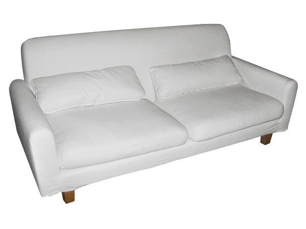 3 sitzer sofa ikea nikkala wei. Black Bedroom Furniture Sets. Home Design Ideas