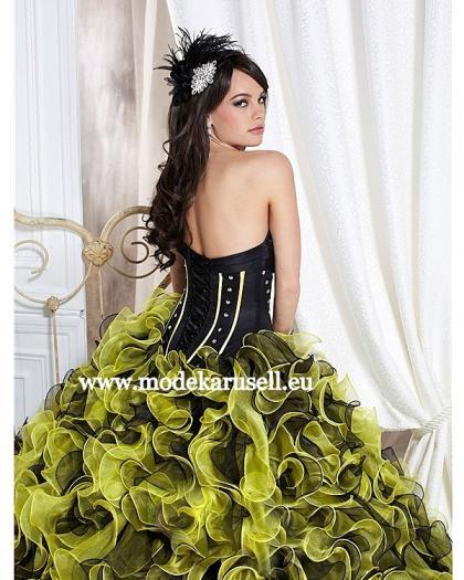 ... 2013 Grün Schwarz Hochzeitskleid Abendkleid von Modekarusell
