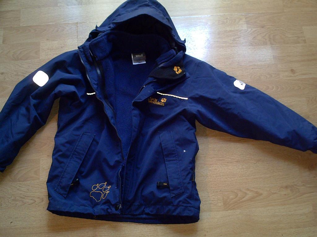 top design premium selection cheap for sale Jack Wolfskin KIDS ICELAND 3in1 Jacke , Winterjacke Gr.128 ...