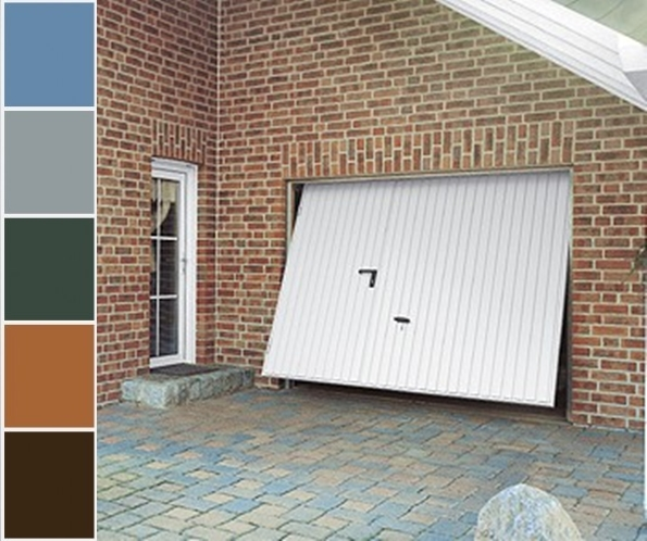 Garagentor mit tür  Schwingtor mit Tür, Garagentor mit Tür, Schlupftür, Inkl. Farbwahl ...