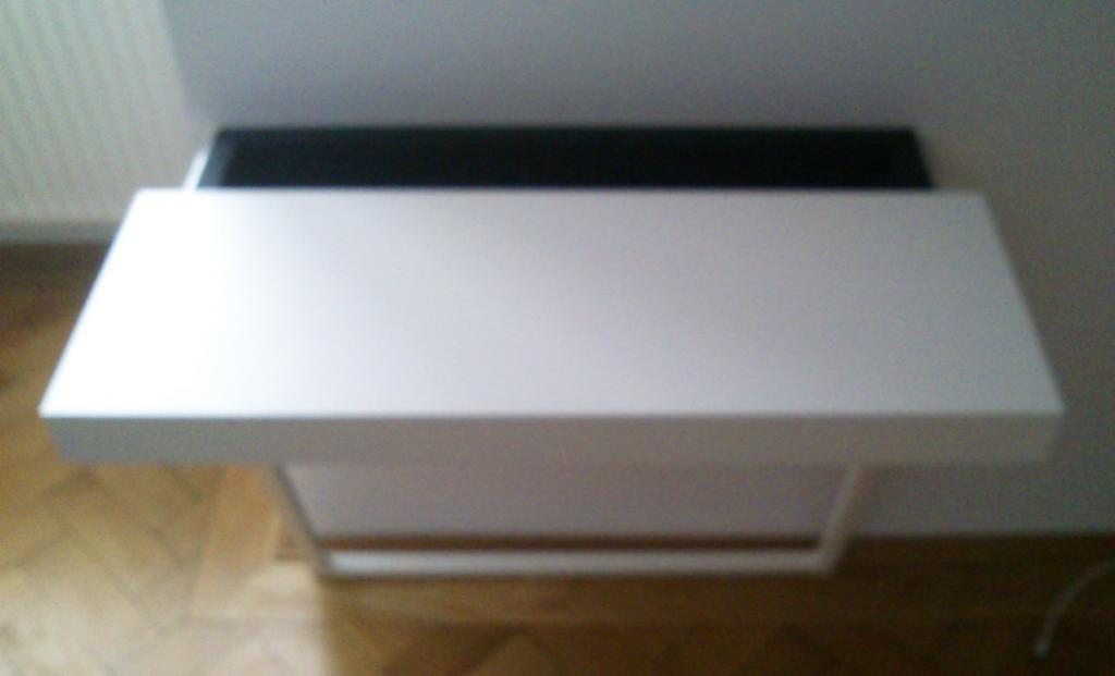 Ikea Wandtisch ikea wandtisch ludvig weiß mit kabelfach