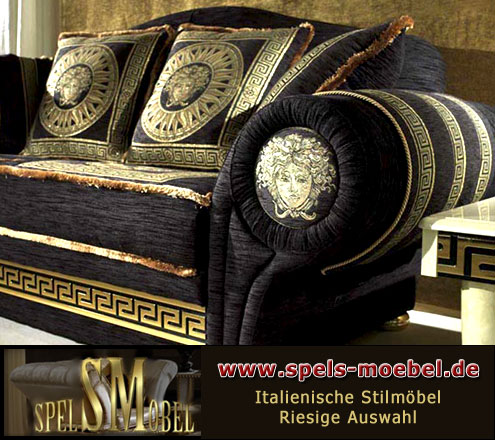 luxus m bel sofa sessel polsterm bel wohnzimmer royale. Black Bedroom Furniture Sets. Home Design Ideas