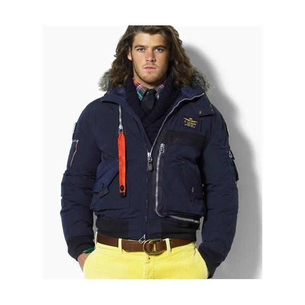 the best attitude dbe61 dd29a Ralph Lauren Polo Winterjacke Herren jacken Daunen Jacke Big ...