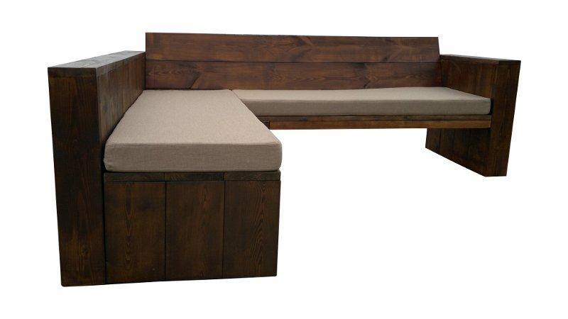 Loungemöbel, Sofa aus Holz, Ecksofa
