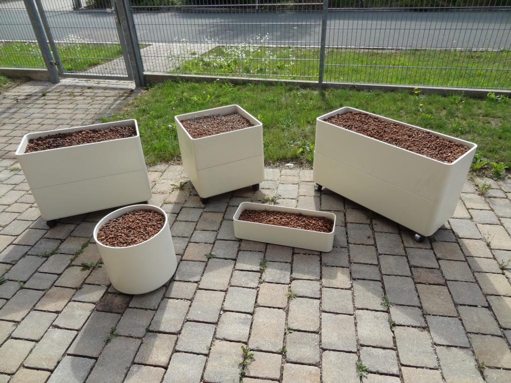 hydrokultur pflanzkübel mit rollen