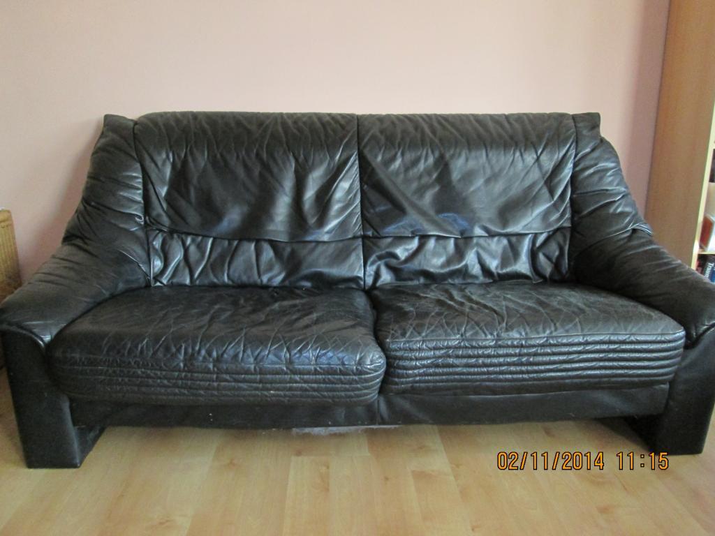 3 sitzer ledersofa. Black Bedroom Furniture Sets. Home Design Ideas