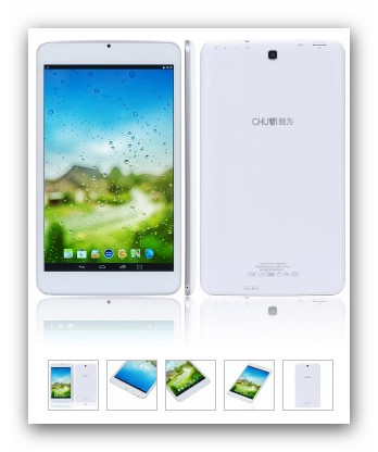 Foto 5 Chuwi VX8 Tablet 8.0'' IPS 1280x800 Android 4.4 Kitkat Quad-Core Euro 85