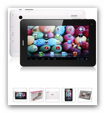 "Foto 5 PIPO Q999 7"" Tablet Android 4 GB 2G/GSM Telefon Euro 95"