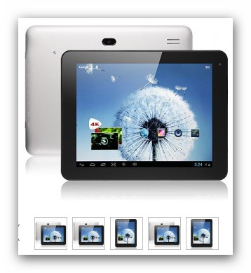 "Foto 5 FreeLander PD80 Quad-Core A31 Tablet 9,7"" Euro 188"