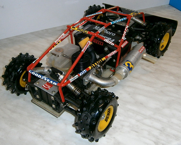 Foto 4 VINTAGE-Wettbewerbsbuggy 80er 1/8 4WD 3,5ccm OS 1985 Robbe Pantera