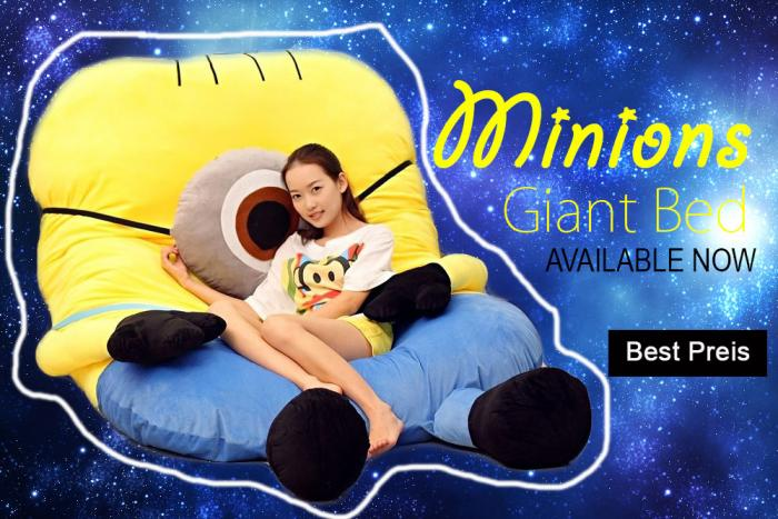 kinderbett minion minions super giant bed g nstig billig. Black Bedroom Furniture Sets. Home Design Ideas