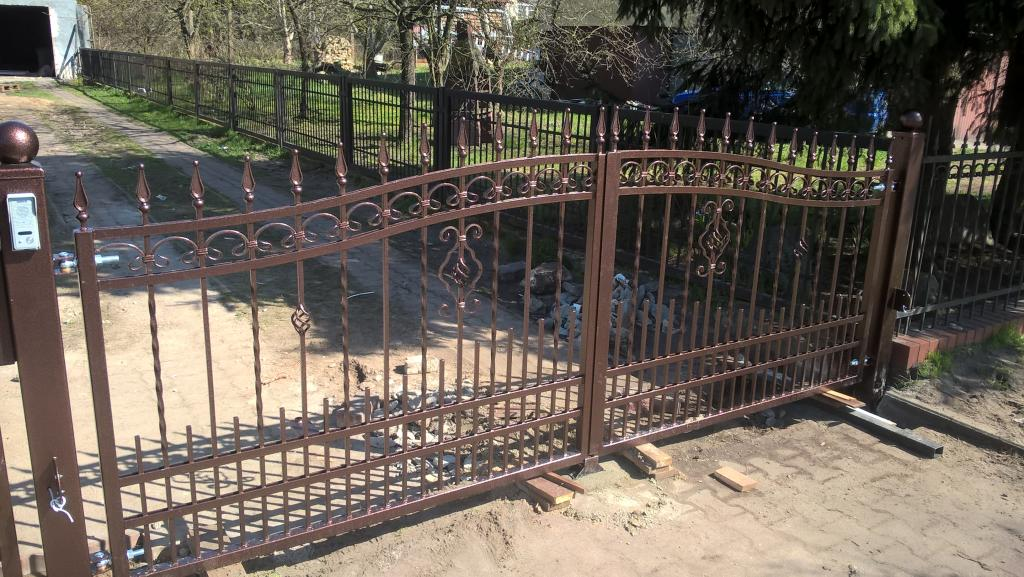 Metallzaun Tor Afdu 6m Gartenzaun Doppelstab Zaun Set Gittermatten