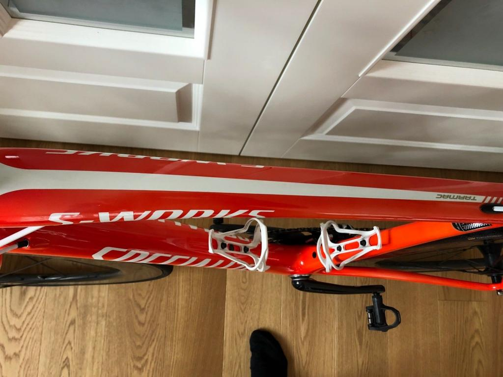 Foto 4 Specialized S Works Tarmac 58 LTD neon red inkl Lightweight Fernweg