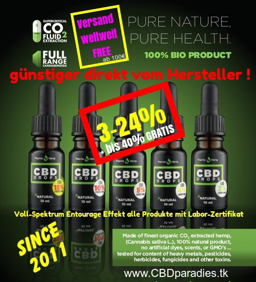 Cannabis CBD Öl Oil hemp hanf