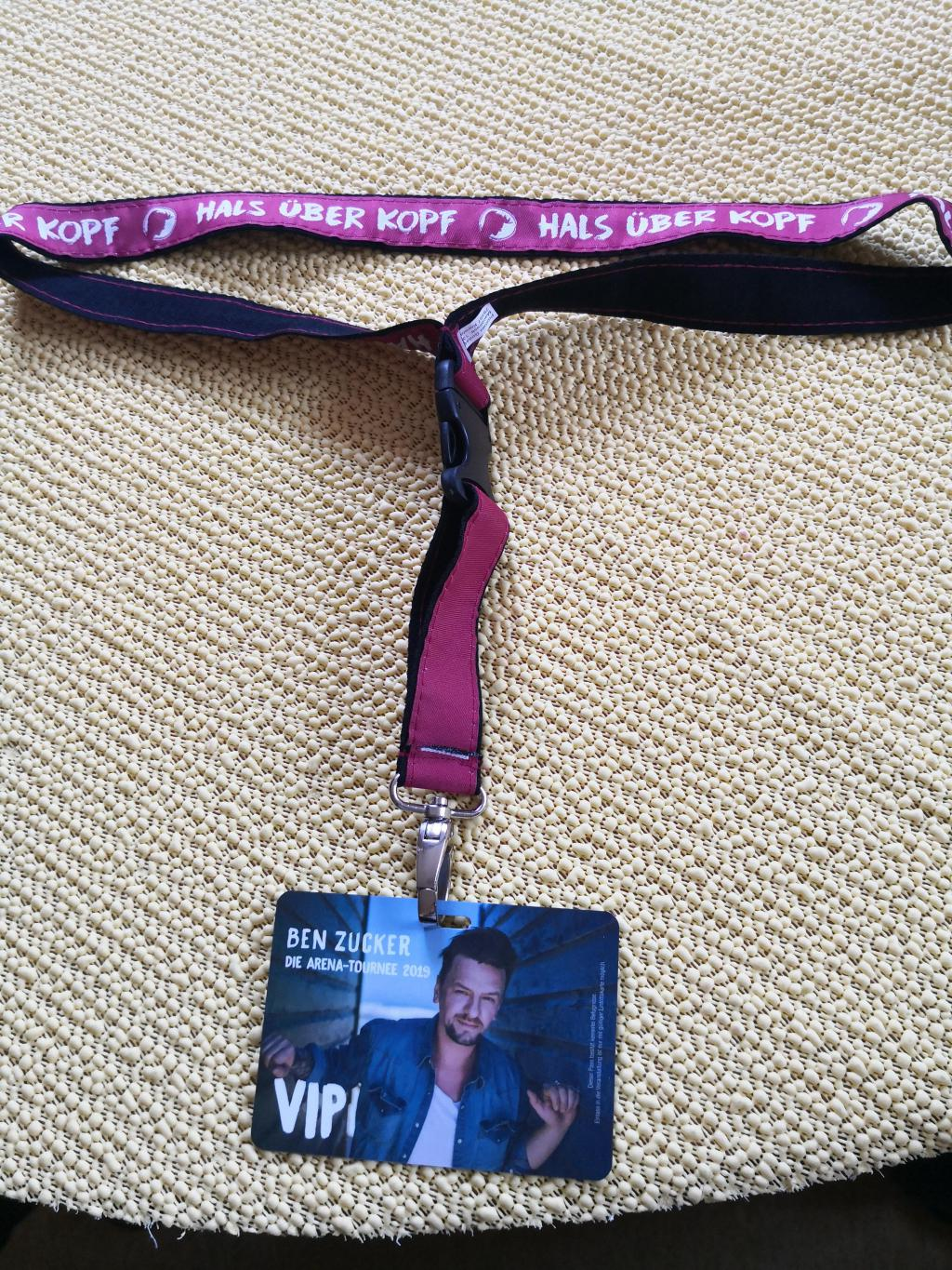 Foto 3 Original VIP TOURPASS Ben Zucker ARENA TOUR 2019