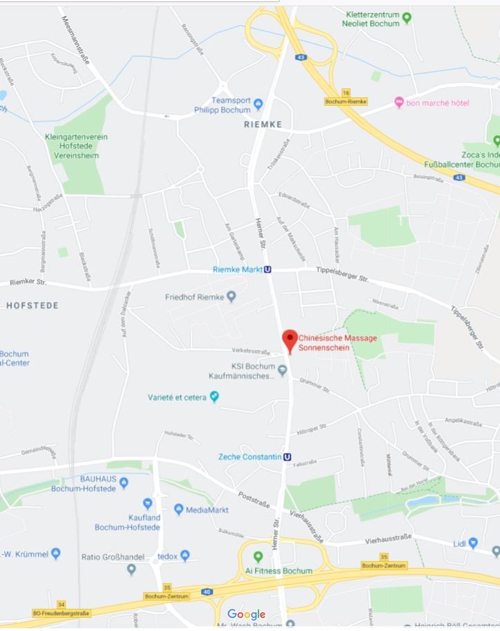 Wieder offen: Chinesische Massage nähe Gelsenkirchen